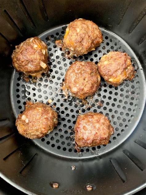 meatballs air fryer bbq beef frozen keto carb low easy cook fresh