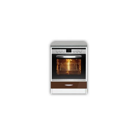 meuble de cuisine pour four encastrable de 60 cm oxane laqu 233 brillant