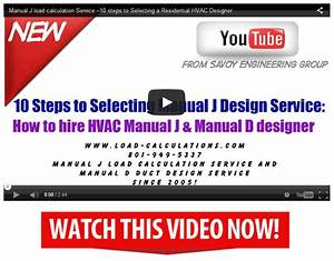 Residential Hvac Design Services Since 2005