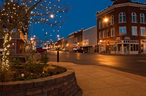 christmas main streets  oklahoma
