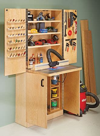 router table wall cabinet woodsmith plans