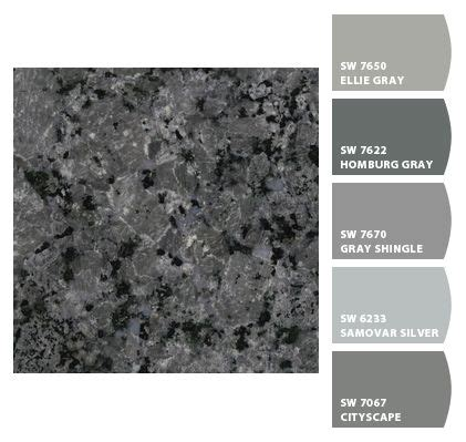 paint colors for kitchen based on cosmic grey colors