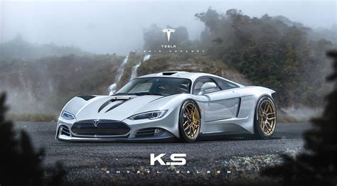 New Tesla Model R by Update Tesla Model R Rendered As Ev Hypercar That Will