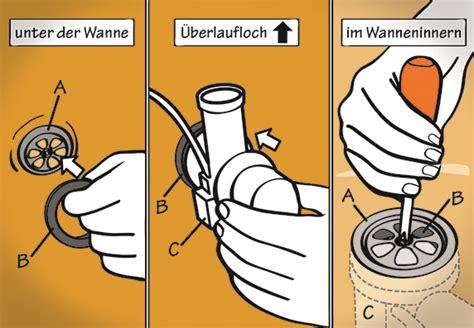 Badewanne Abfluss Austauschen by Wasserabfluss F 252 R Waschbecken Badewanne Dusche Montieren