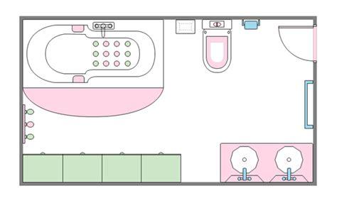 Bathroom Design Templates by Bathroom Floor Planner