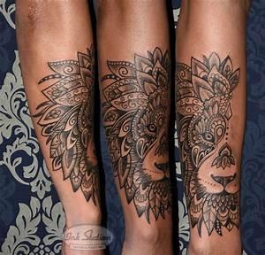 Mandala Tattoo Unterarm : l we mandala unterarm tattoo taetowierung stuttgart lion blackandgrey ink station tattoo ~ Frokenaadalensverden.com Haus und Dekorationen