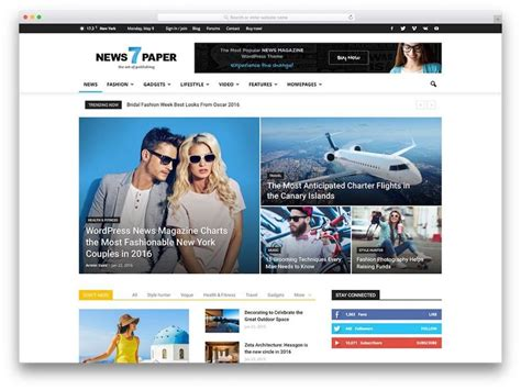 best news website what theme design is for your website