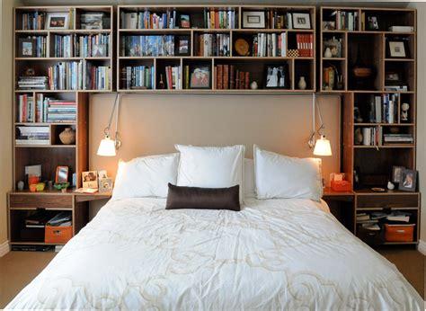 bedrooms bookshelves  inspirational examples