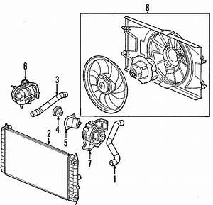 Chevrolet Cobalt Radiator Coolant Hose  Upper
