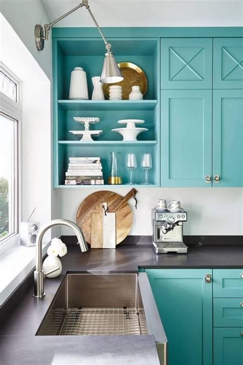 awesome beach color schemes   kitchen