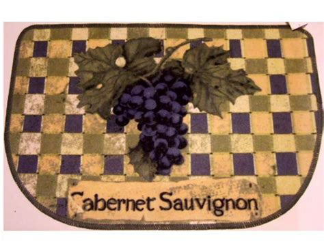 grape themed kitchen mat grapes rug