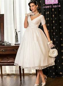 tea length wedding dress plus size pluslookeu collection With plus size tea length wedding dress