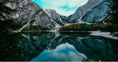 Nature Mountains Lake Scenery Mountain Landscape Reflections