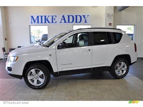 jeep compass sport white 2011 bright white jeep compass 2 4 limited 4x4 47584324