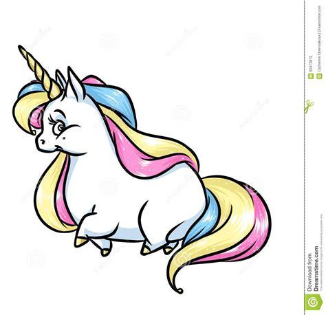illustrazione magica fumetto della criniera dell arcobaleno dell unicorno illustrazione di