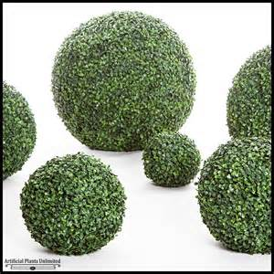 Outdoor Faux Topiary