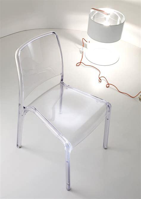sedie in policarbonato sedie trasparenti e la stanza sembra pi 249 grande cose di