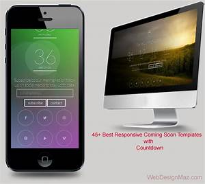 55 Best Responsive Coming Soon HTML Templates 2015