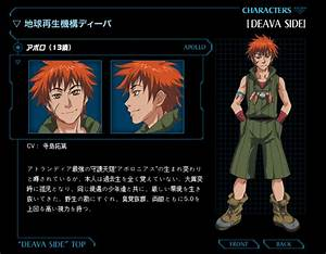Apollo | Genesis of Aquarion | Anime Characters Database