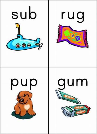 Cvc Words Reading Phonics Kindergarten Simple Teaching