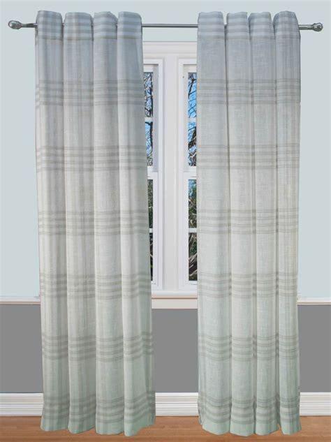 Soho Plaid Curtain Panel   Bestwindowtreatments.com