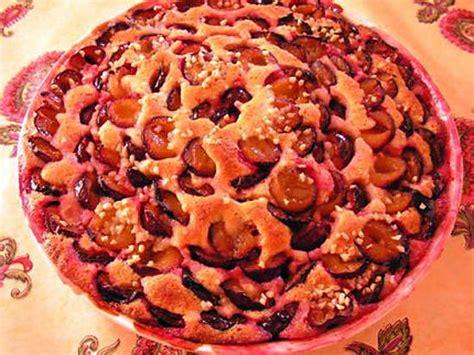 recette de g 226 teau aux prunes et p 226 te d amande