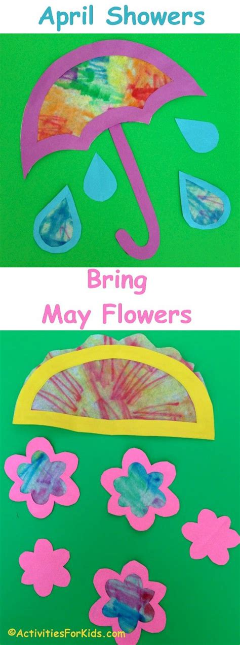 april showers bring may flowers craft for 798 | abac30d846962ac6495e18cdcc21f920