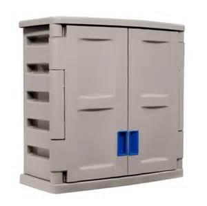 suncast c2800d storage trends utility 2 door wall cabinet