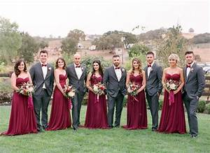 Burgundy wedding theme autumn wedding shades of burgundy for Maroon dresses for wedding