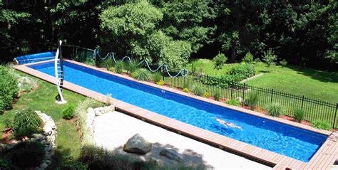 Diy Inground Swimming Pool  Backyard Design Ideas