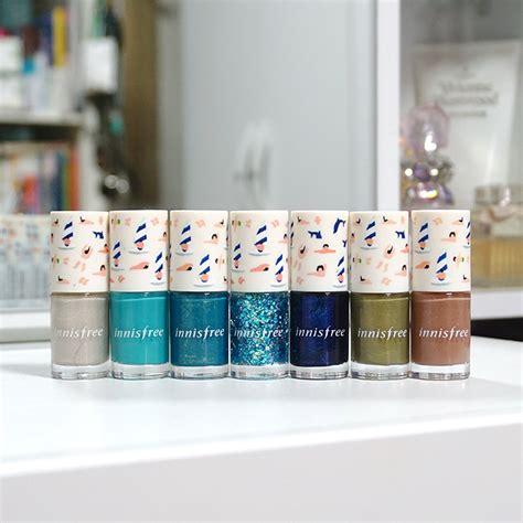 innisfree eco nail color pro jeju color picker review
