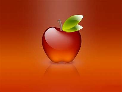 Apple Wallpapers Glass 3d Background Desktop Backgrounds