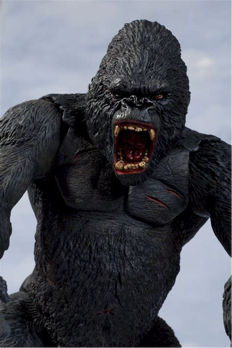 king kong action figure  toy review  michael