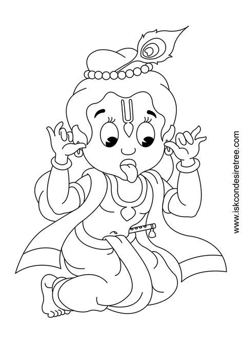 cartoon krishna colouring cake ideas  designs