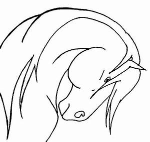 How To Draw A Horse Head - ClipArt Best