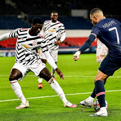 PSG v Manchester United Champions League match highlights ...