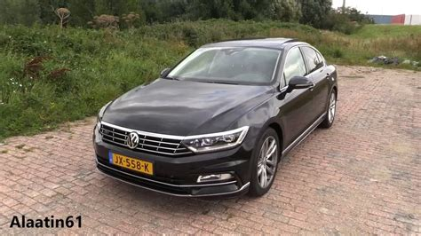 2017 Volkswagen Passat R Line / Start Up, Pov Drive, In