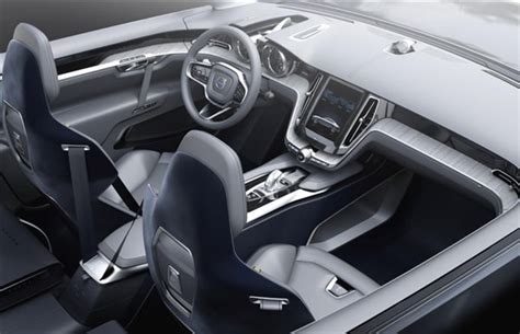 volvo concept coupe previews  xc design cues