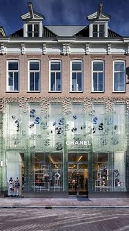 #Chanel, temporary boutique, Amsterdam, Netherlands ...