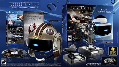 vr ps4 wars star rogue helmet psvr headset bundle games playstation sony fake wants sell really far oculus money take