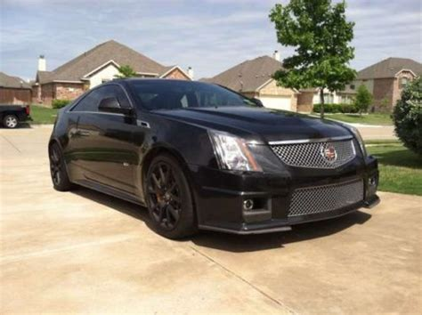 2 door cadillac cts purchase used 2011 cadillac cts v coupe 2 door 6 2l black
