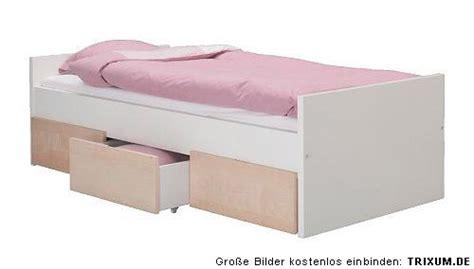 Ikea Bett Brekke Rakke 3 Schubladen Birke + Sultan Lade
