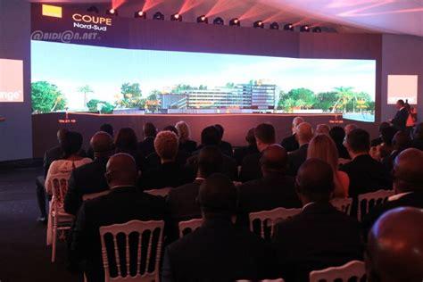 orange siege social côte d ivoire 28 milliards fcfa d investissements pour le