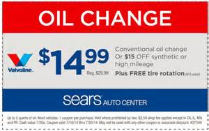 Photos of Oil Change Coupons
