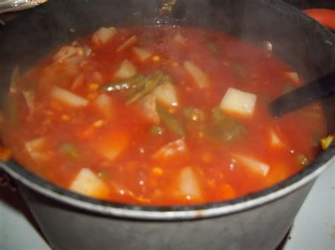 vegetable soup the easiest vegetable soup recipe dishmaps