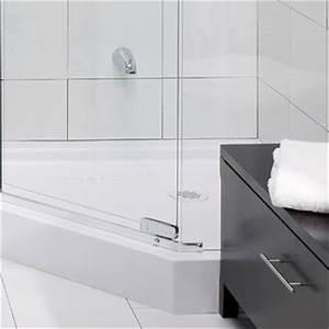 Deboucher un renvoi de douche ou de bain 1 rona for Porte de douche coulissante avec deboucher canalisation salle de bain