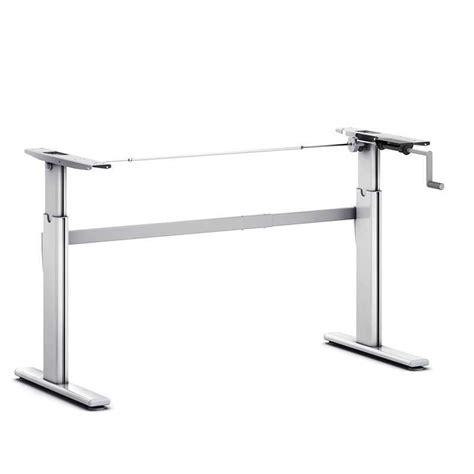 bureau hauteur variable bureau assis debout à manivelle pro 110 c
