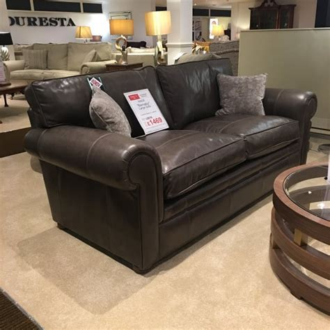 Sofas Delivery Uk by Wade Barnaby Large Leather Sofa Clearance Local