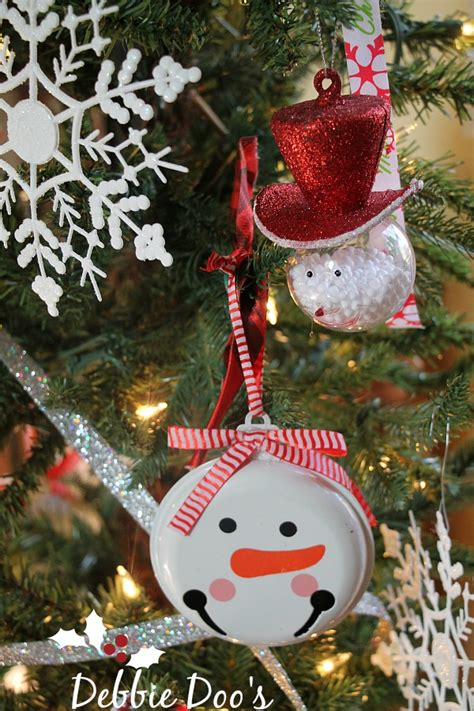 snowman christmas tree theme debbiedoos