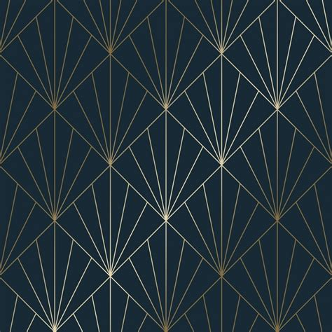 betty metallic wallpaper navy gold wallpaper